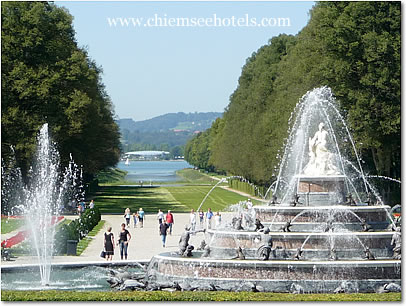 Herrenchiemsee Garden and Fountains